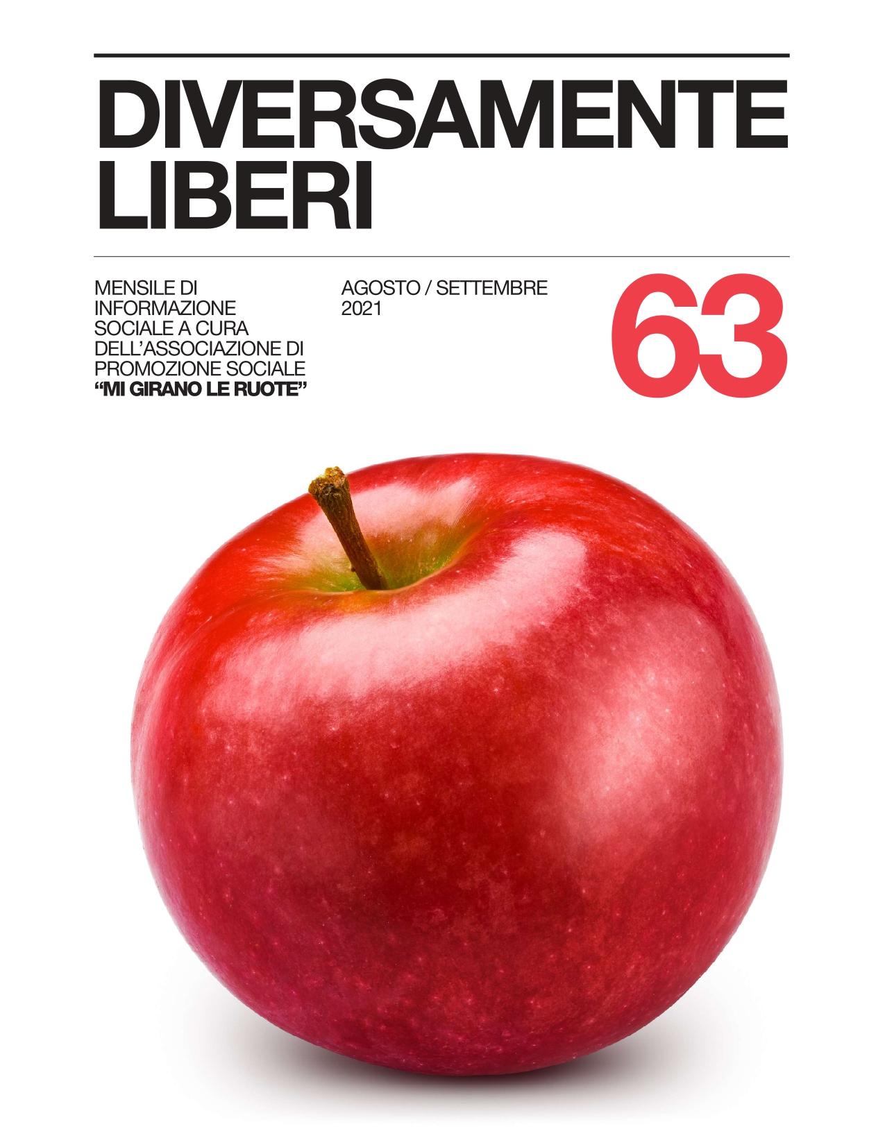 Diversamente Liberi n.63 Agosto